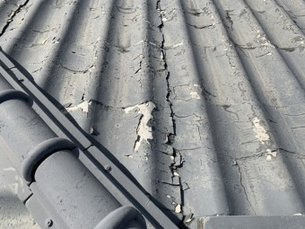 カバー工法、セキスイかわらU,屋根葺き替え