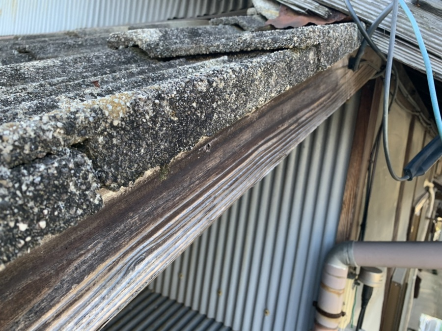 川越町、屋根工事、破風板金