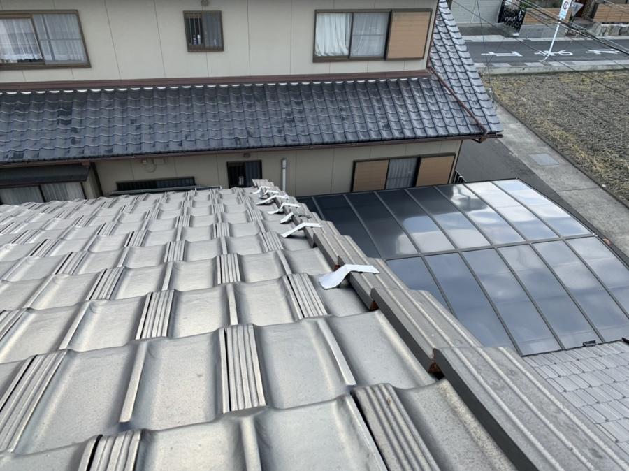 川越町、屋根工事、瓦修理