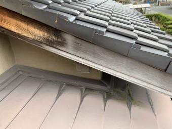 四日市市、破風板、屋根修繕