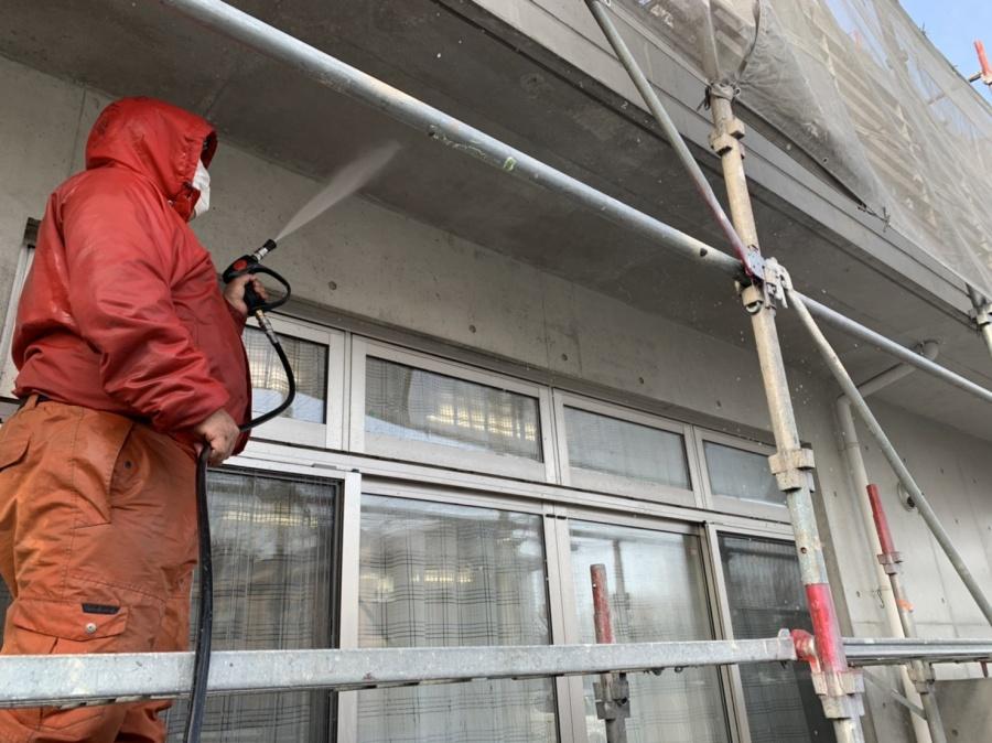 四日市市、外壁、屋根塗装、高圧洗浄