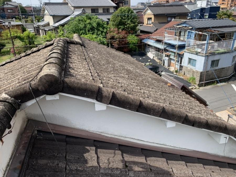 桑名市、モニエル瓦、屋根葺き替え