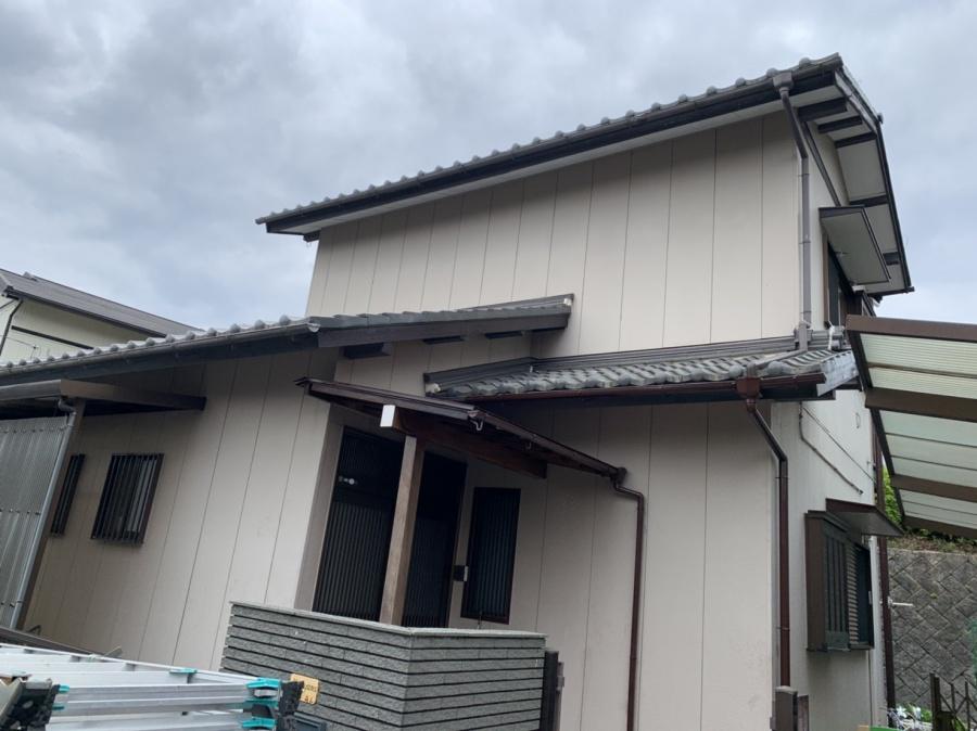 四日市市にて耐震診断の結果による屋根葺き替え見積り依頼