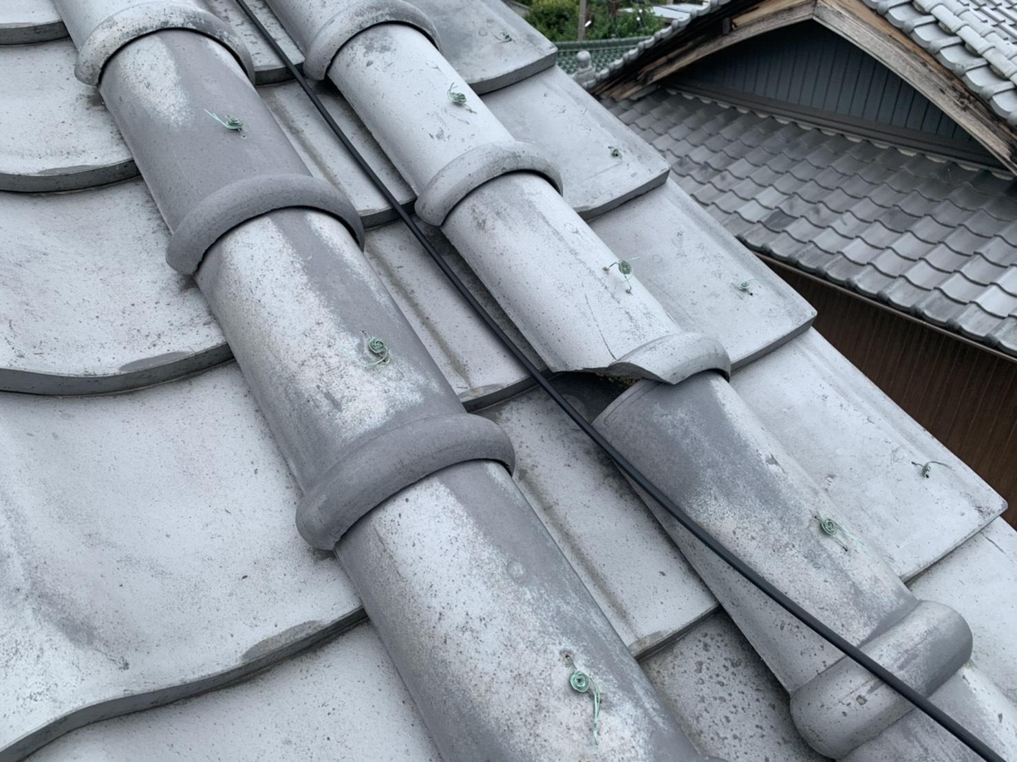 四日市市、屋根修理、雨漏り点検