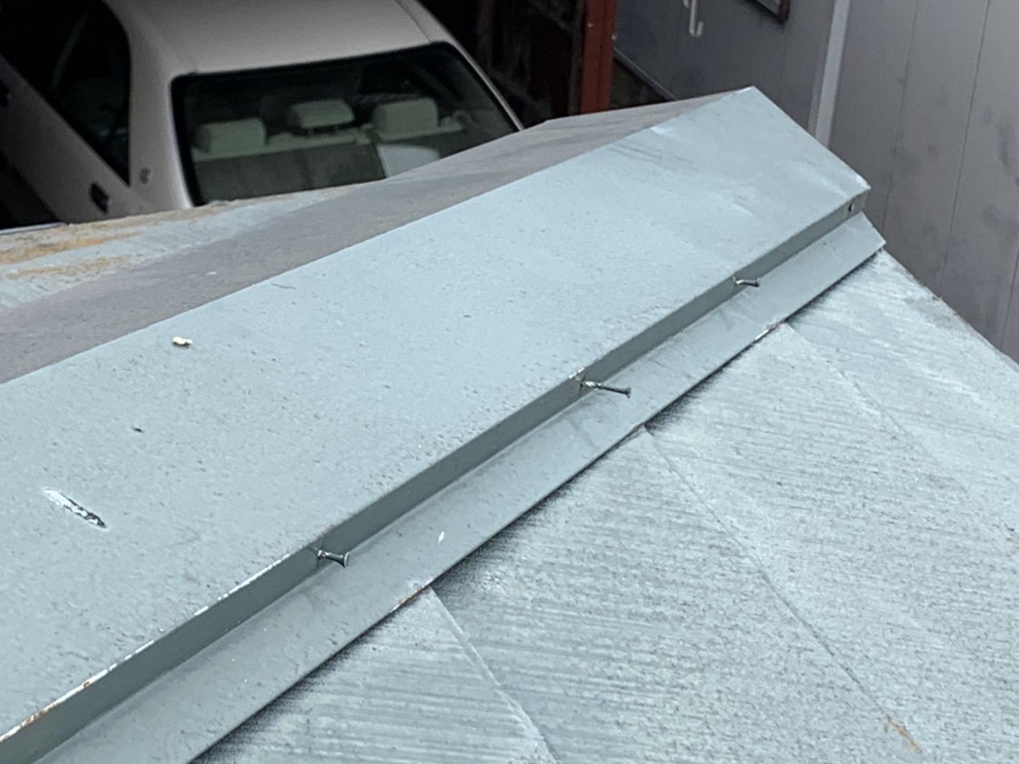 四日市市のカラーベスト屋根破損状況
