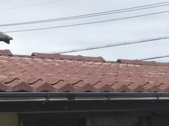 台風被害 棟瓦 屋根 街の屋根やさん四日市店