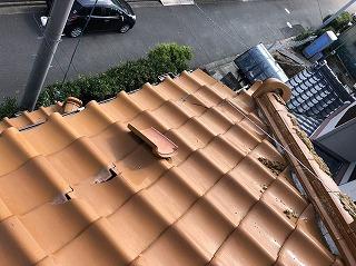 棟瓦破損 桟瓦破損 街の屋根やさん四日市店