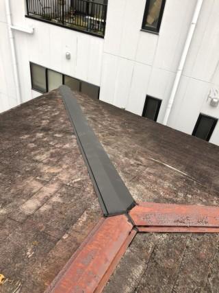 台風被害 棟板金 街の屋根やさん四日市店