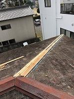 台風被害 棟板金 屋根 落下 修繕 街の屋根や四日市店