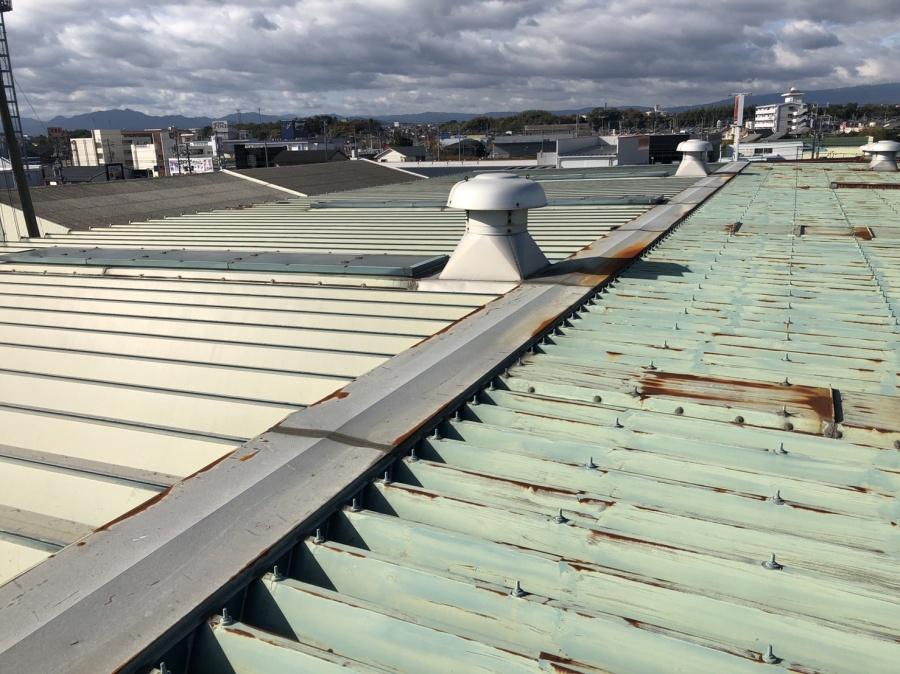 倉庫 雨漏り 折半屋根