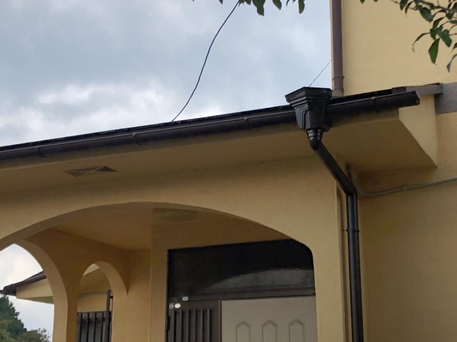 台風被害 雨樋 屋根 修繕 街の屋根やさん四日市店
