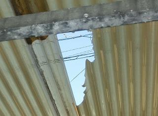 カーポート屋根破損 街の屋根やさん四日市店 津市