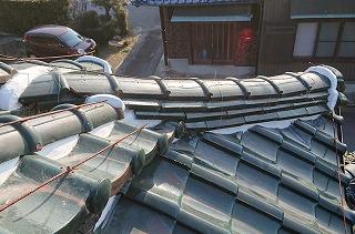 瓦のズレ修繕 街の屋根やさん四日市店