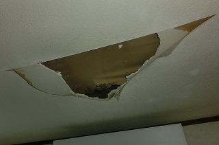 ベランダ雨漏り 天井腐食 町の屋根やさん四日市店 川越町