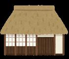 萱葺き屋根補修