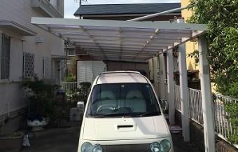 カーポート屋根パネル 街の屋根やさん四日市店
