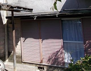 庇破損 街の屋根やさん四日市店