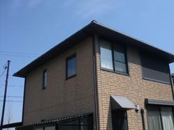 三重県松阪市阿形町にて住宅の外装リフォーム前の写真。