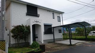 三重県松阪市阿形町にて住宅の外装リフォーム後の写真。