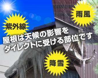 屋根材耐久性