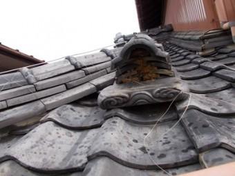 鬼瓦補修 街の屋根や四日市