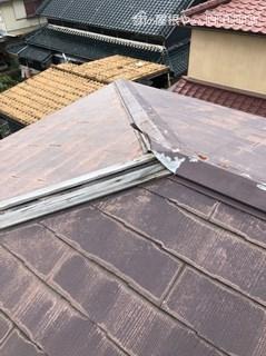 街の屋根やさん四日市店 棟板金補修