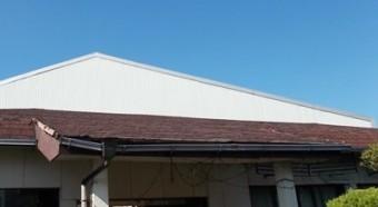 屋根材劣化 街の屋根や四日市