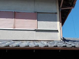 漆喰剥がれ 瓦ズレ 街の屋根やさん四日市店