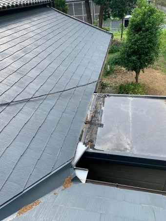雨漏れ修理前写真屋根