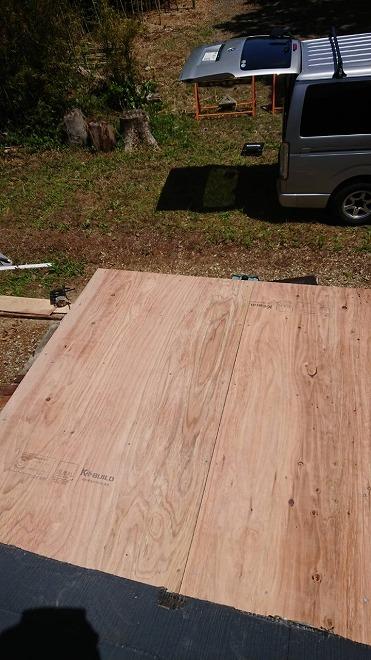 屋根葺き替え、野地板