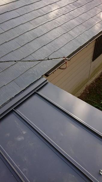 屋根葺き替えガルバリウム鋼板