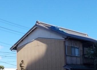 瓦破損 街の屋根やさん四日市店