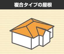 複合タイプの屋根